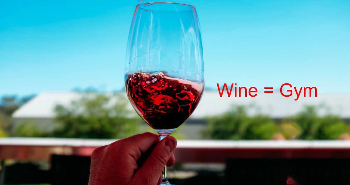 Wellness και κόκκινο κρασί